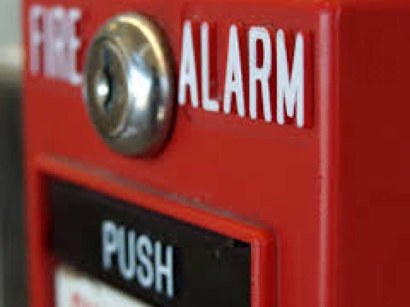 Sistema de alarme de incêndio da Batifogo